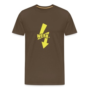 Werk-Yellow - Men's Premium T-Shirt