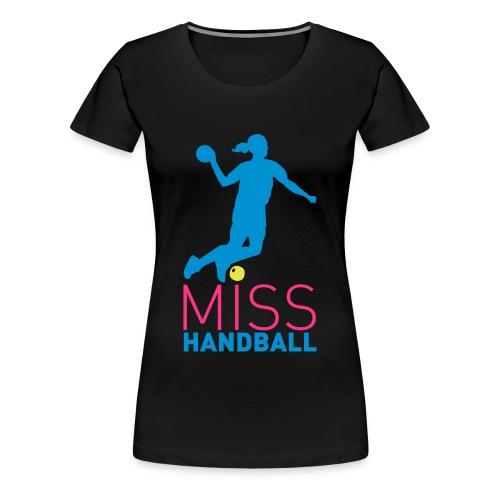 Tee-Shirt noir Miss Handball  - T-shirt Premium Femme
