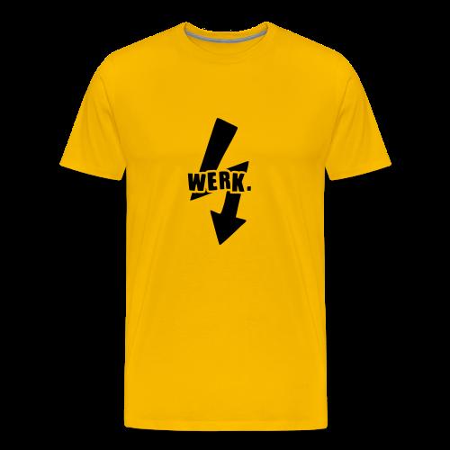Werk-Black - Men's Premium T-Shirt