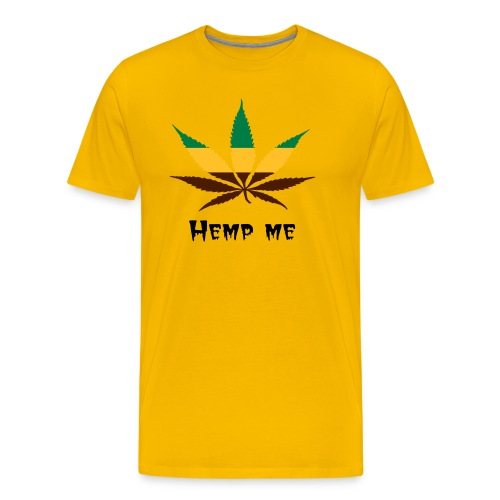 Hemp me - Men's Premium T-Shirt