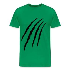 Mannen t-shirt klassiek (Claws) - Mannen Premium T-shirt