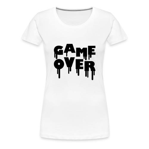 Game Over Womens - Women's Premium T-Shirt
