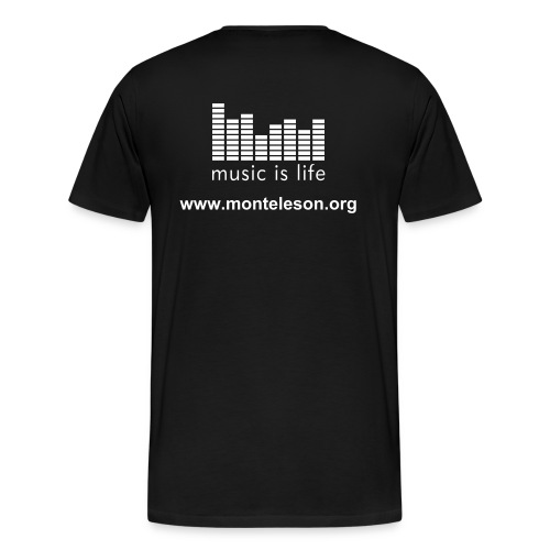 music is life - Homme - T-shirt Premium Homme