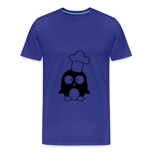 Men's Premium T-Shirt - cook,cool,penguin