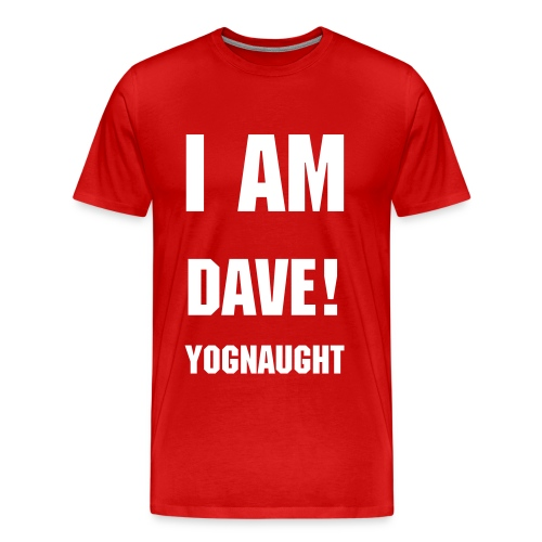 Mens T: Dave Yognaught - Men's Premium T-Shirt