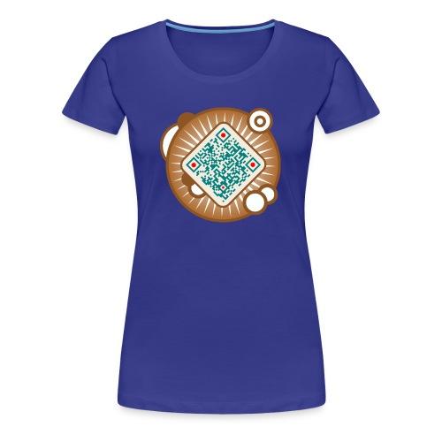 QR Code -I like your Shirt. - Frauen Premium T-Shirt