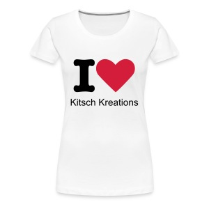 I heart Kitsch Kreations - Women's Premium T-Shirt