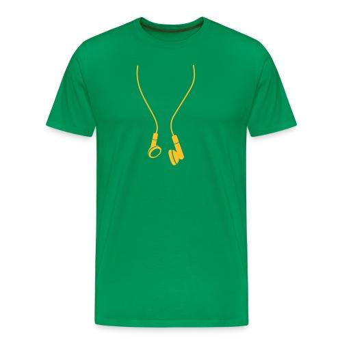 T-Shirt Cuffie - Maglietta Premium da uomo