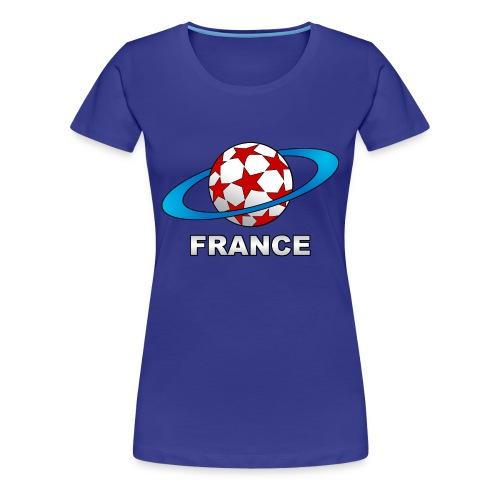t-shirt supporter football france - Women's Premium T-Shirt