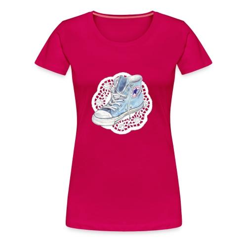 chuck pink - Frauen Premium T-Shirt