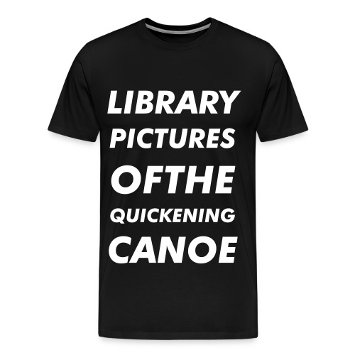 'Library Pictures' Tee - Men's Premium T-Shirt