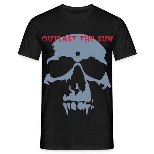 Outlast The Sun Skull Tee - Men's T-Shirt