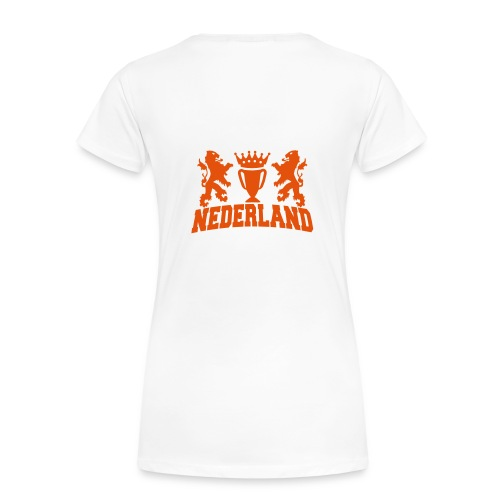 nederland beker - Vrouwen Premium T-shirt