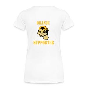oranje suporter - Vrouwen Premium T-shirt
