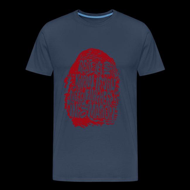 Fingerprint DNA (red)