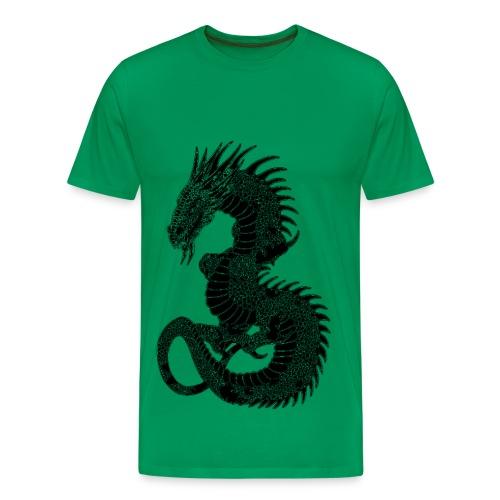 T shirt homme dragon - T-shirt Premium Homme