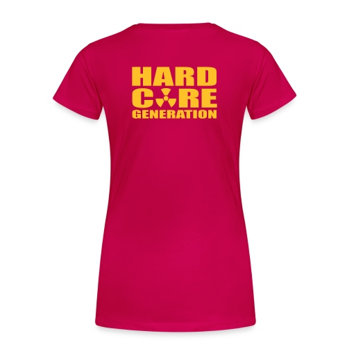 Hardcore Generation Atomic woman - Frauen Premium T-Shirt