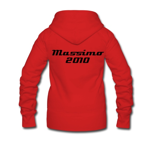 Womans Massimo 2010 Hooded Jumper - Women's Premium Hooded Jacket