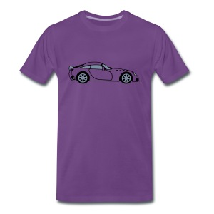 Sagaris Purple T-Shirt - Men's Premium T-Shirt