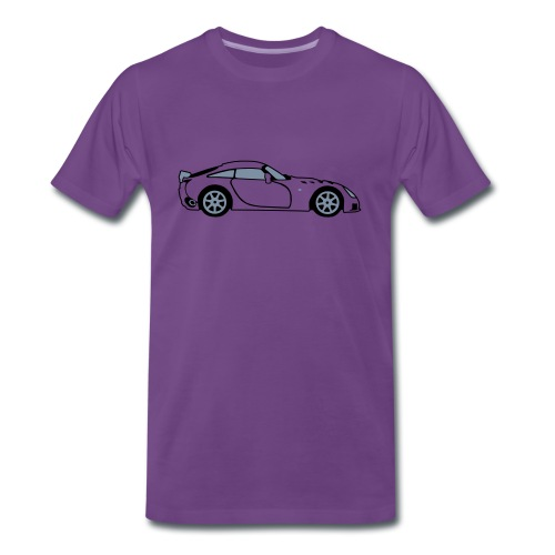Sagaris Purple T-Shirt - Men's Premium T-Shirt