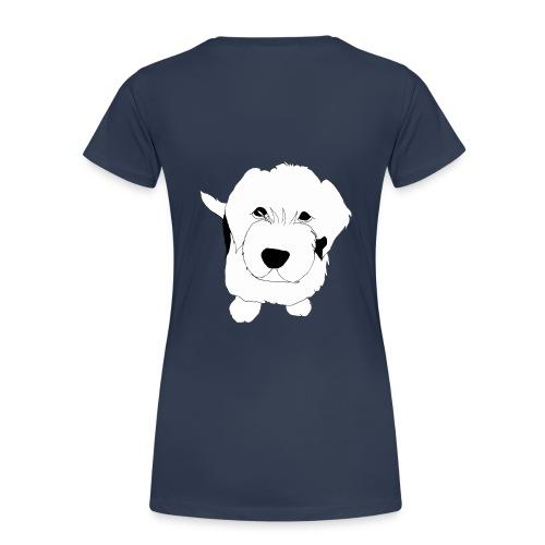 Hundeblick - Frauen Premium T-Shirt