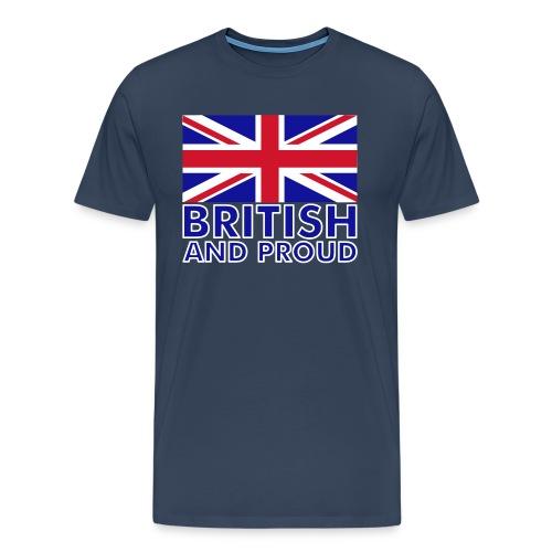 British & Proud Mens Tee - Men's Premium T-Shirt