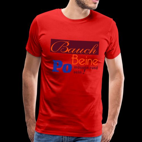 Selbstbewusst und figurbetont - Männer Premium T-Shirt