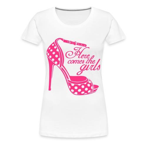 womens shoe top - Women's Premium T-Shirt