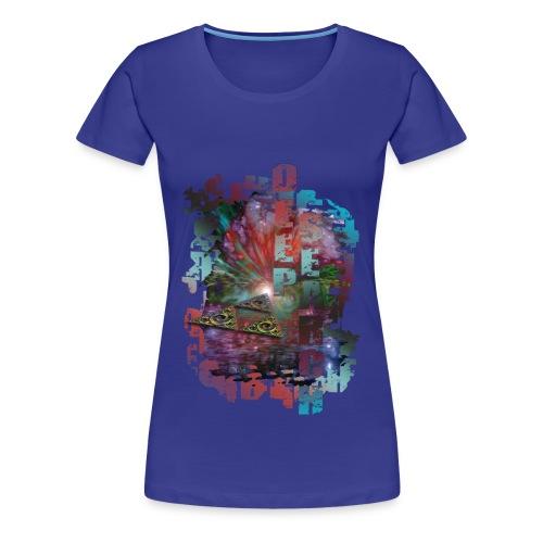 Frauen- Kurzarmshirt Deep Search - Frauen Premium T-Shirt