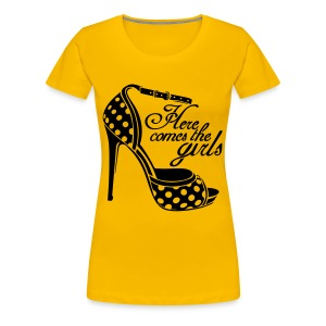 womens shoe top - Women's Premium T-Shirt