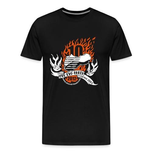 Pre-Evo-Party #10 - 2012 ÜBERGRöSSE - Männer Premium T-Shirt