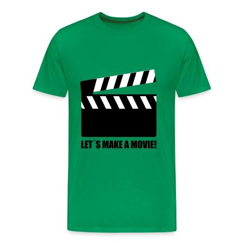 T-shirt Jongens Groen - Mannen Premium T-shirt