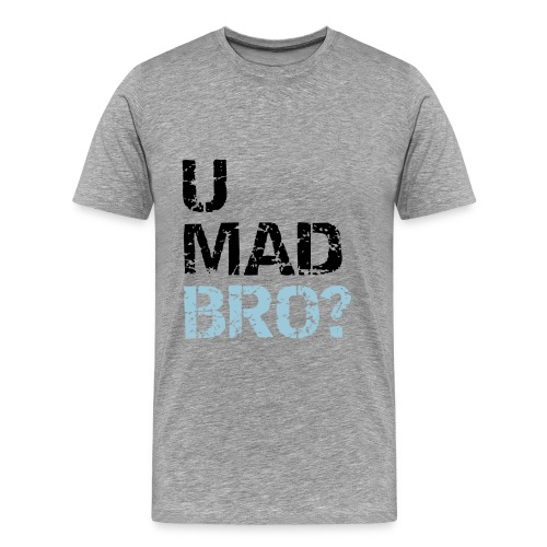 umadbro - Männer Premium T-Shirt
