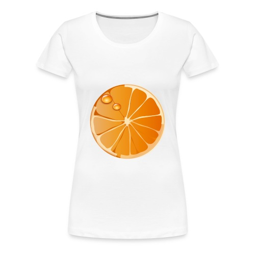 Girlie Orange - Frauen Premium T-Shirt