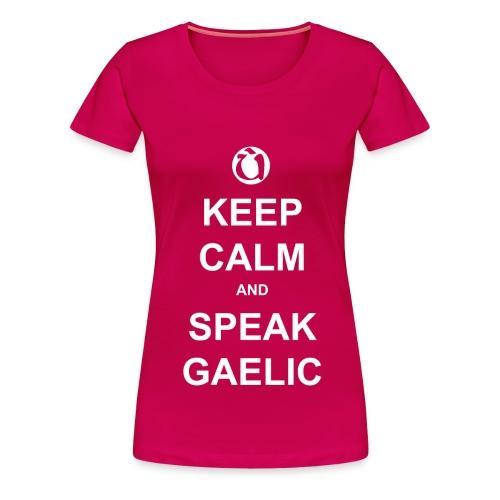 Boireannaich - Keep Calm - Women's Premium T-Shirt