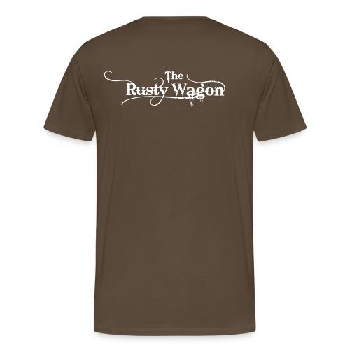 Rusty Wagon Shirt [minimal] - Männer Premium T-Shirt