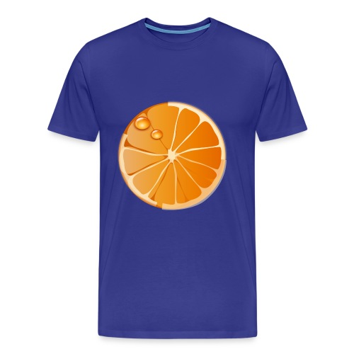 Orange - Männer Premium T-Shirt
