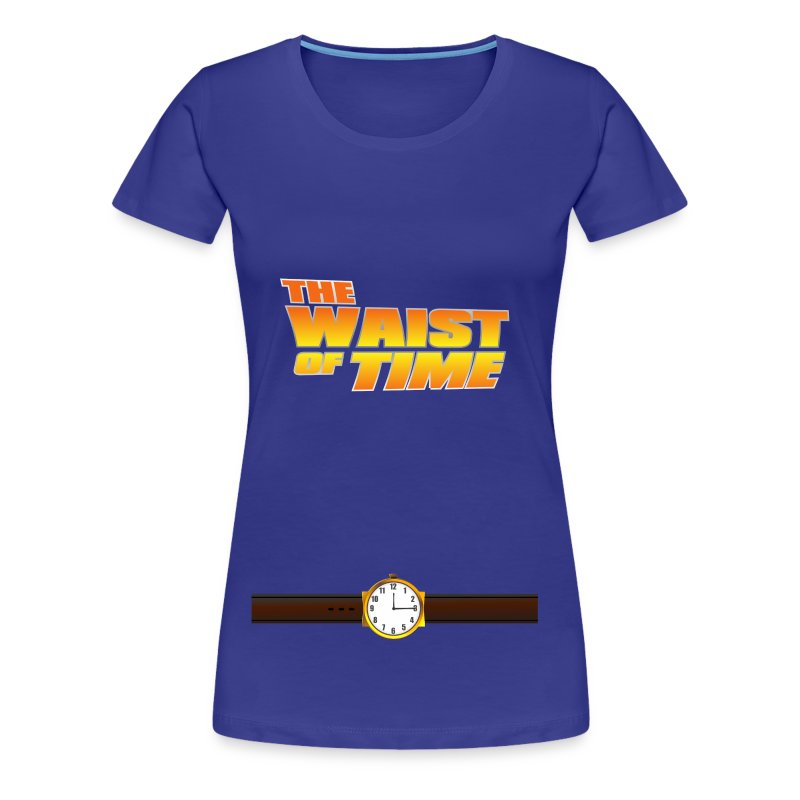 The Waist of Time - Women's Premium T-Shirt
