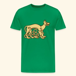 Celtic Dog, Biggie - Männer Premium T-Shirt