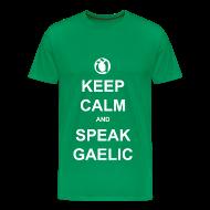 T-Shirts ~ Men's Premium T-Shirt ~ Fireannaich - Keep Calm
