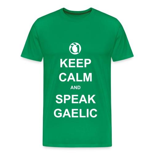 Fireannaich - Keep Calm - Men's Premium T-Shirt