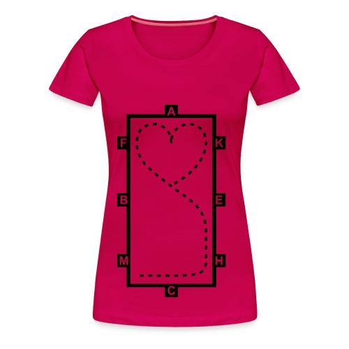 LIMITED EDITION DRESSAGE COLLECTION - Women's Premium T-Shirt