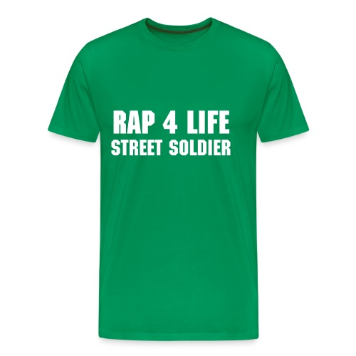 tee shirt rap for life - T-shirt Premium Homme