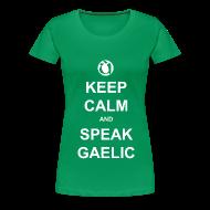 T-Shirts ~ Women's Premium T-Shirt ~ Boireannaich - Keep Calm