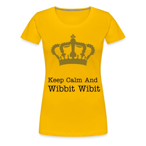 Wibbit Wibit Girls T-shirt - Women's Premium T-Shirt