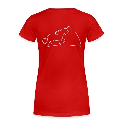 XL-Ponygirl  - Frauen Premium T-Shirt