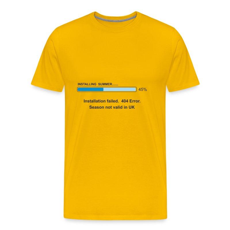 Installing Summer - Men's Premium T-Shirt