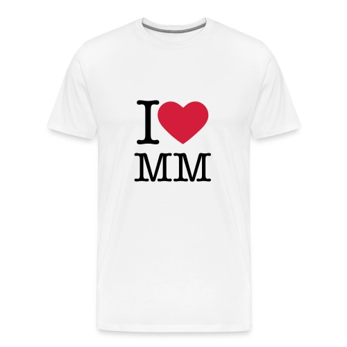 I♥MM - Herre premium T-shirt