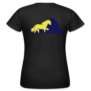 Damen/woman T-shirt Ponygirl - Frauen T-Shirt