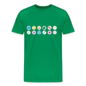 Choose your Weapons - Men's Premium T-Shirt